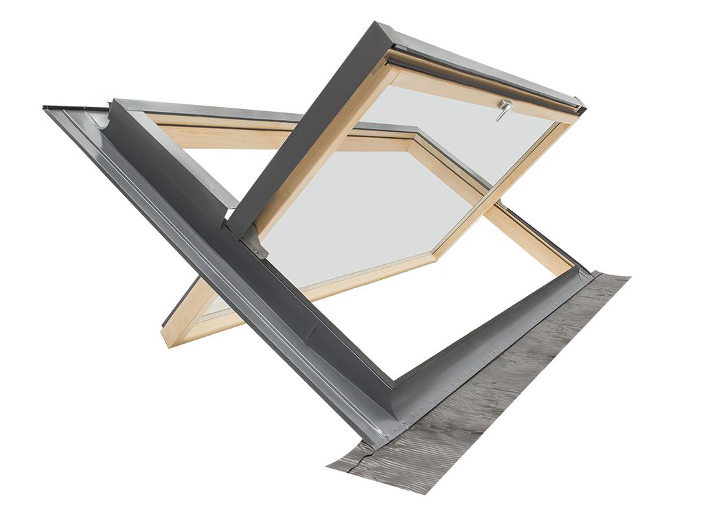 dachfenster eindeckrahmen modell comfort bilico 94x55 ffnung art velux ebay. Black Bedroom Furniture Sets. Home Design Ideas