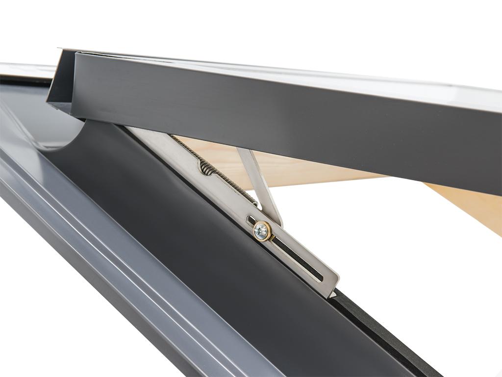 dachfenster eindeckrahmen modell comfort vasistas 78x98 fensterisolierung. Black Bedroom Furniture Sets. Home Design Ideas