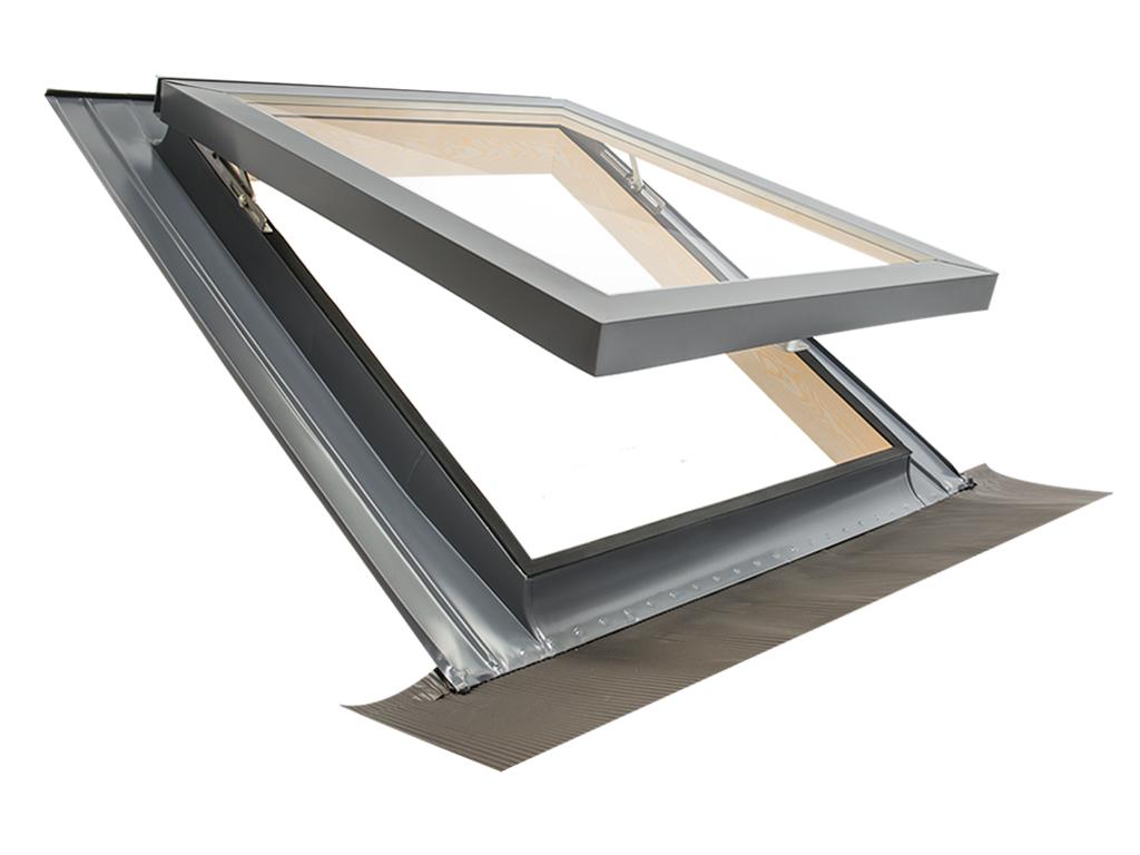 Fen tre de toit lucarne ligne comfort vasistas 55x98 for Vasistas fenetre