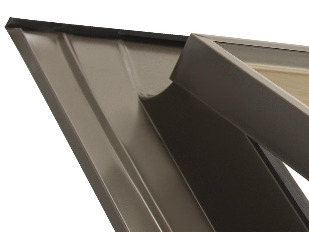 Lucarne fen tre pour toit ligne basic vasistas 45x55 - Fenetre de toit en ligne ...