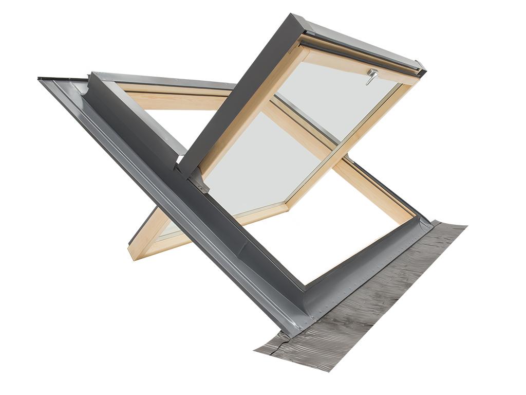 Finestra per tetto lucernario comfort bilico 94x98 for Finestra nel tetto
