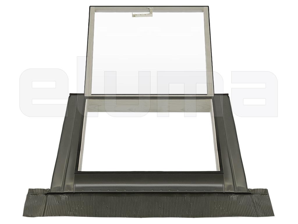90x48 Base x Altura Claraboya Tragaluz por el acceso al techo//Doble vidrio apertura tipo Velux Ventana para tejadoCLASSIC VASISTAS