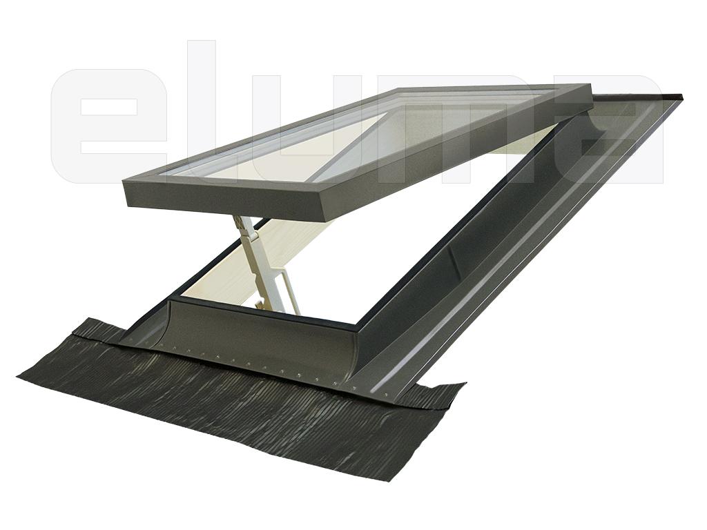 Fenêtre de toit - ligne COMFORT VASISTAS 78x98 + Raccord Lucarne isolant