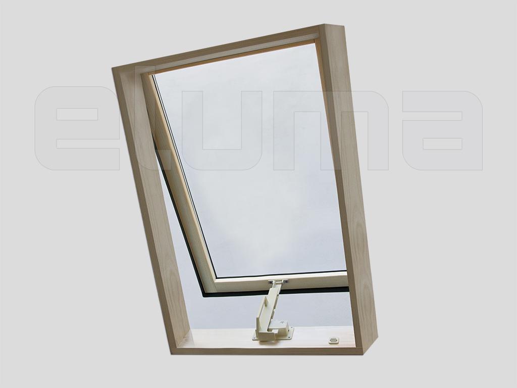 Lucarne Fenêtre De Toit Ligne Classic Vasistas 48x90 Ouverture