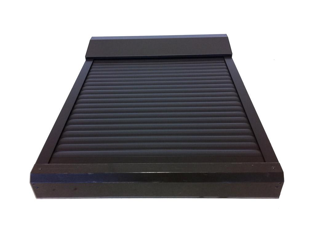 Tapparella elettrica da esterno per lucernari e finestre for Velux in alluminio