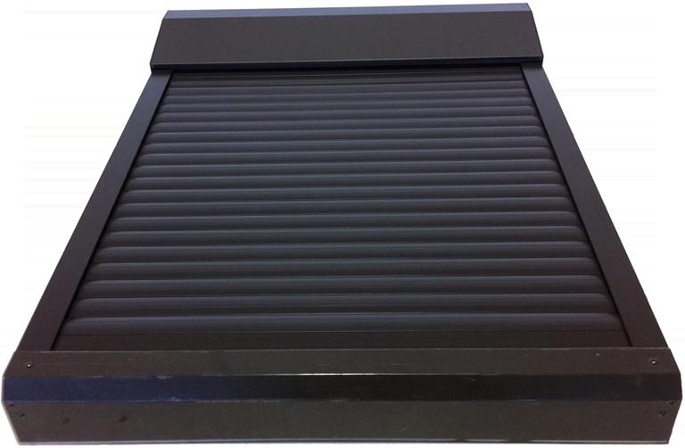 Tapparella elettrica da esterno per lucernari e finestre for Lucernario elettrico velux
